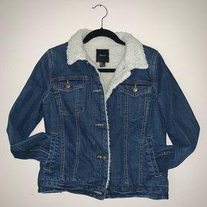 Jean jacket forever 21